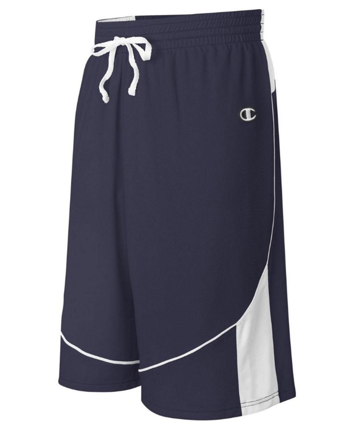 Champion BB03 Mens Game Short - Athletic Navy/White - YM BB03