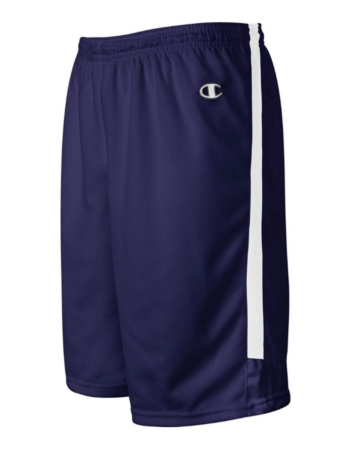 Champion BB55 Womens Basketball Short - White/Athletic Navy - XS BB55