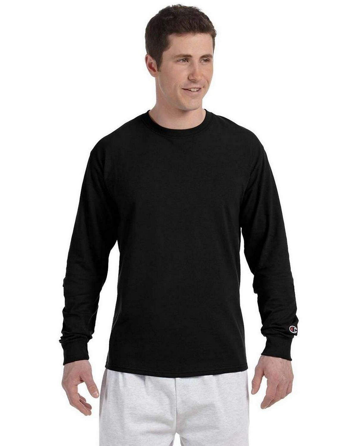 7ebc4302 Buy Champion CC8C Long-Sleeve Tagless T-Shirt
