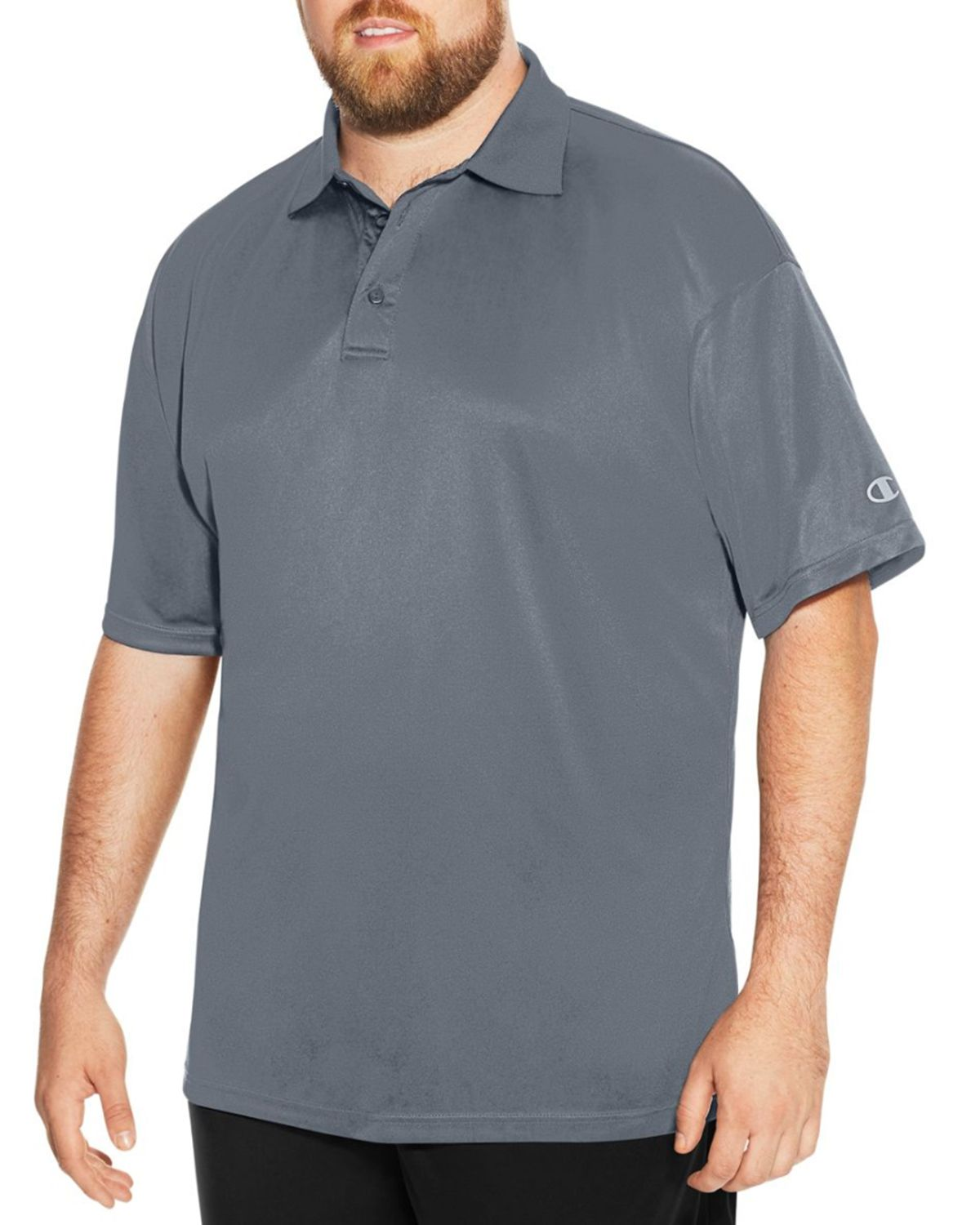 Champion Ch407 Men's Vapor Big & Tall Short-Sleeve Polo - Stormy Night - XLT #vapor