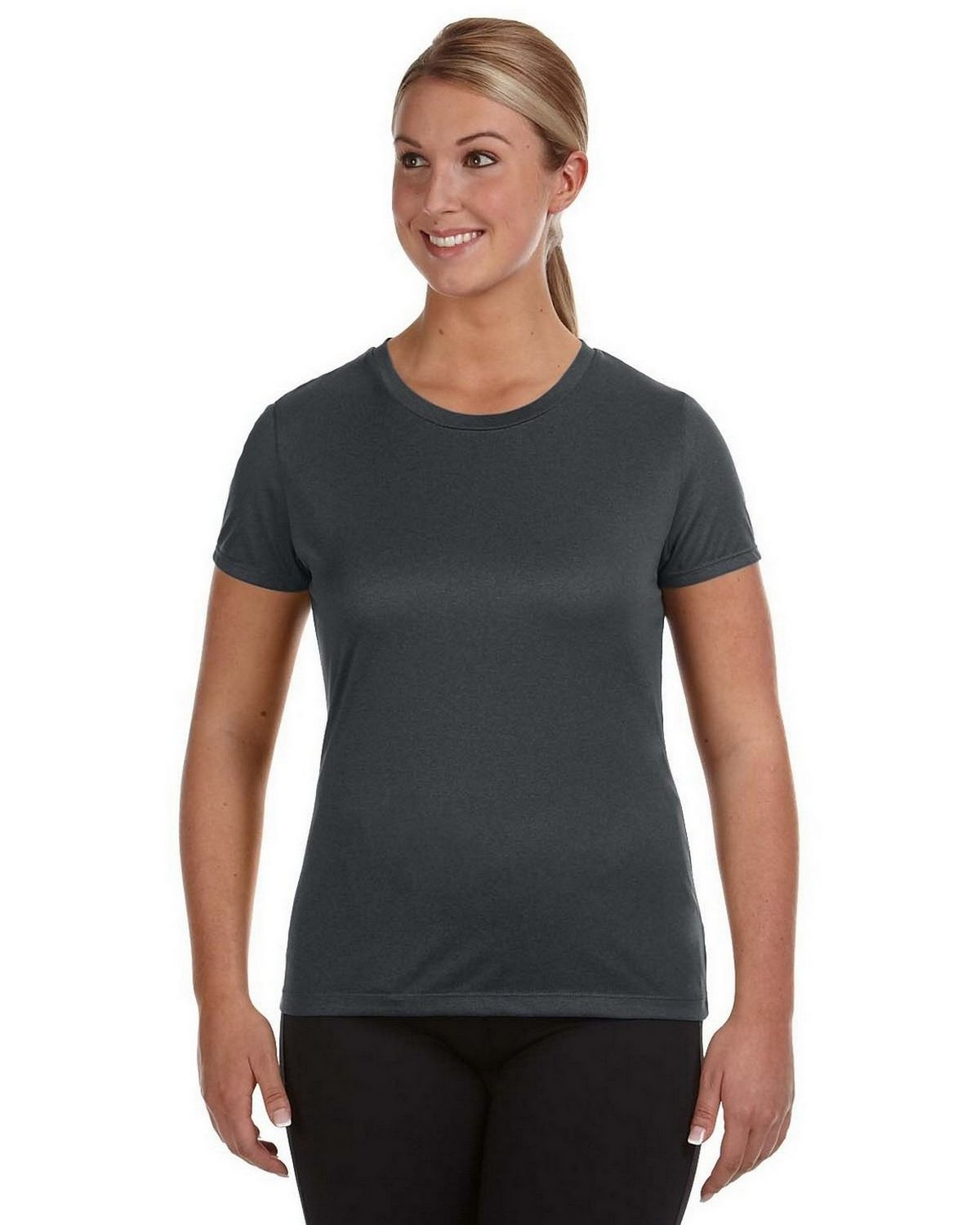 Champion CV30 Women's Vapor T Shirt - Black Heather - S #vapor