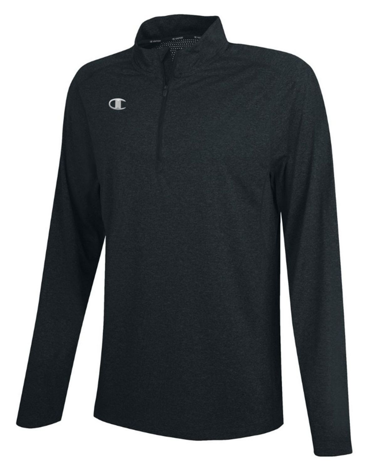 Champion CV80 Mens Vapor Pullover - Black Heather - XL CV80
