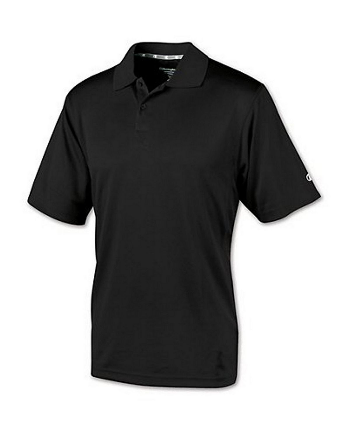 Champion H131 Double Dry Ultimate Polo - Black - XL H131