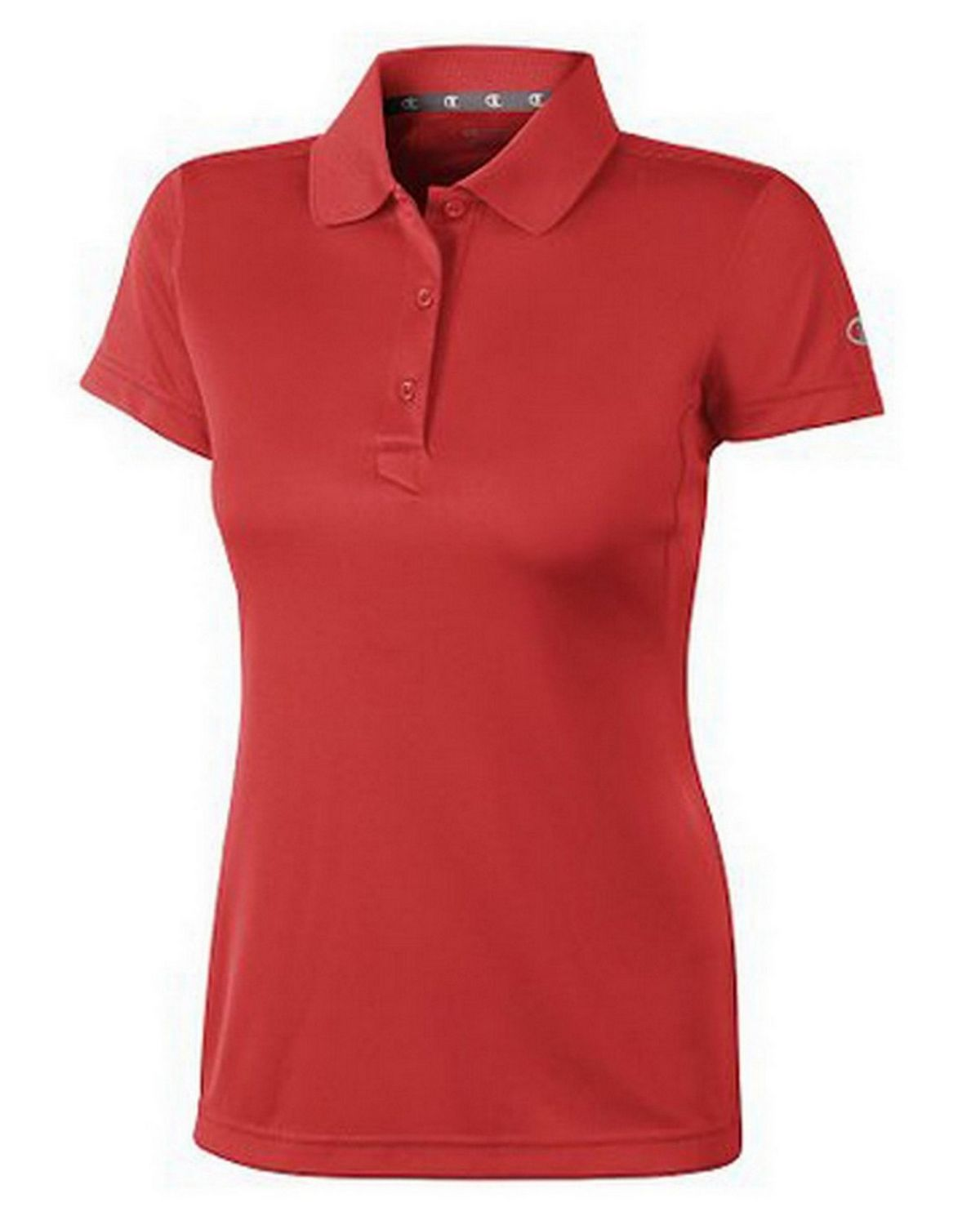 Champion H132 Double Dry Ultimate Polo - Scarlet - XS H132