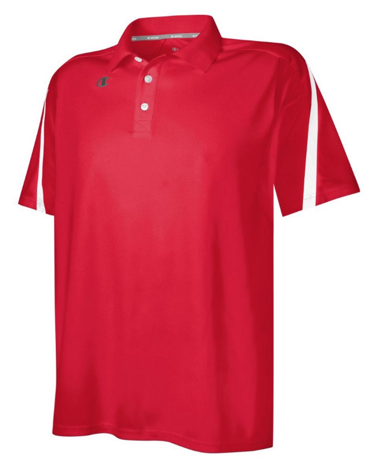 Champion H911 Mens Polo Shirt - Scarlet/White - XL H911