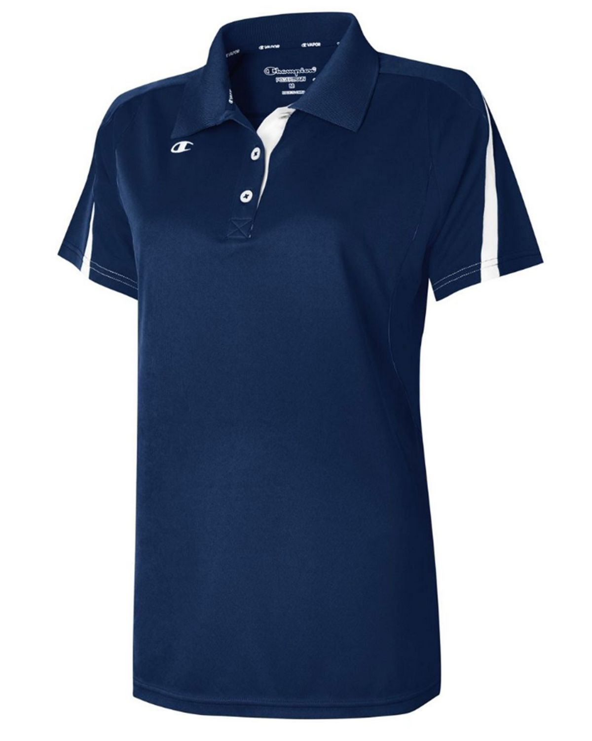Champion H912 Women's Victory Vapor Polo Shirt - Team Navy/White - XS #vapor