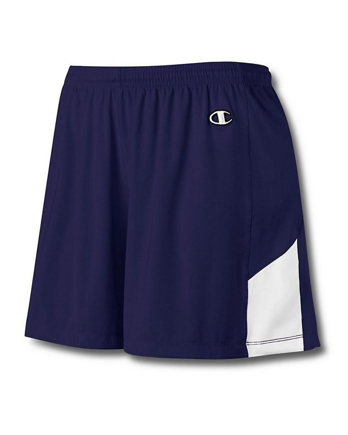 Champion L531 Womens Stretch Short - Athletic Navy/White - XS L531