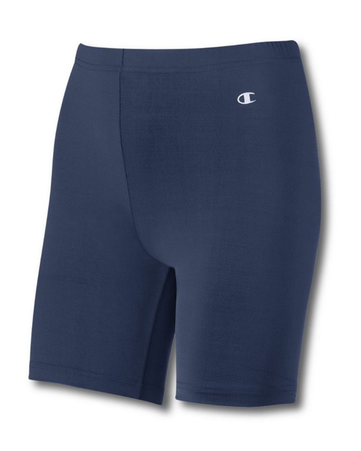 Champion L538 Womens Compression 7 Short - Navy - XS L538