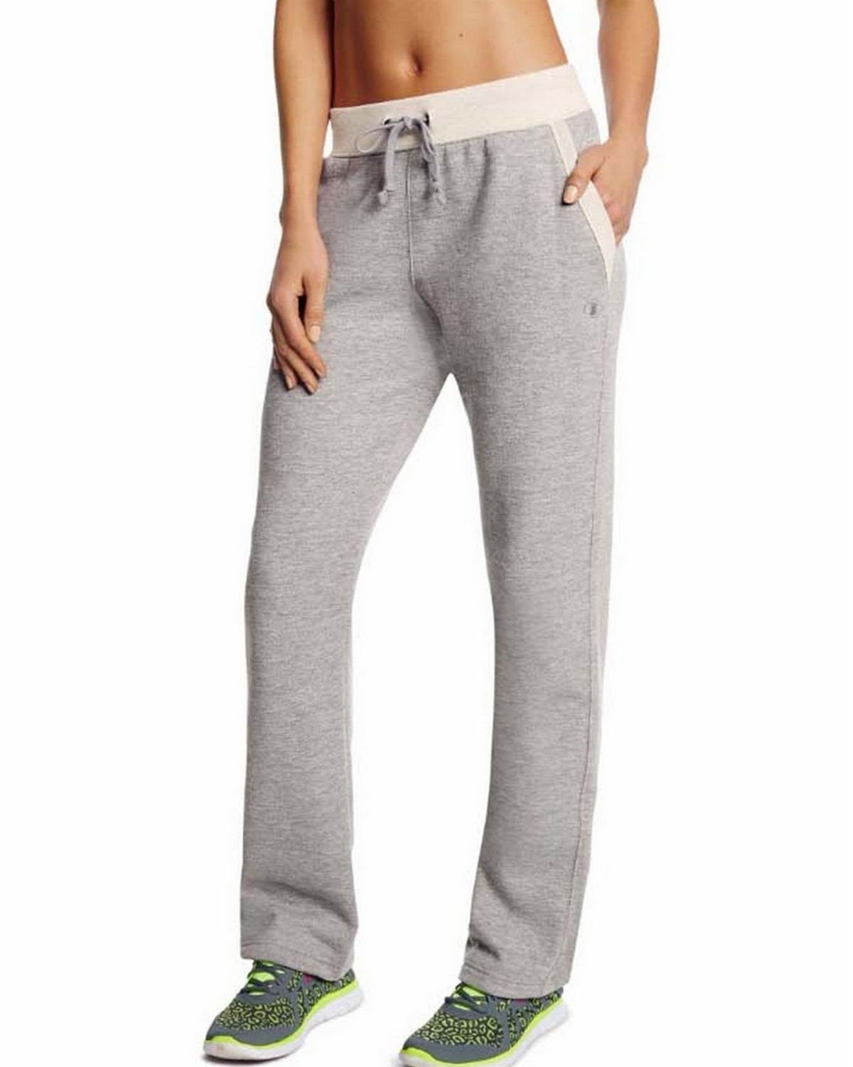 Champion M1064 Womens Fleece Bottom Pants - Granite Heather - XL M1064