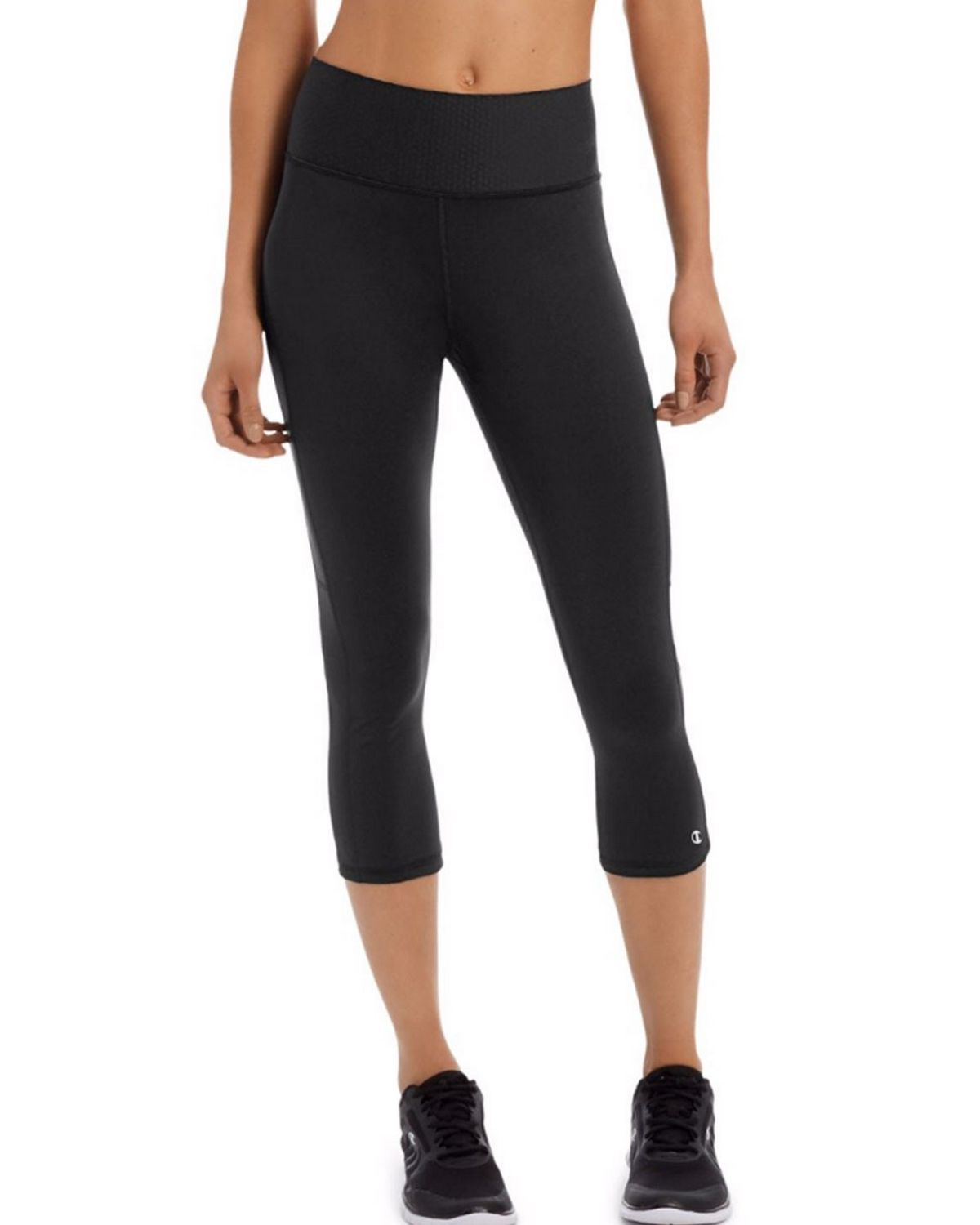 Champion M1590 Womens Capri - Black - S M1590