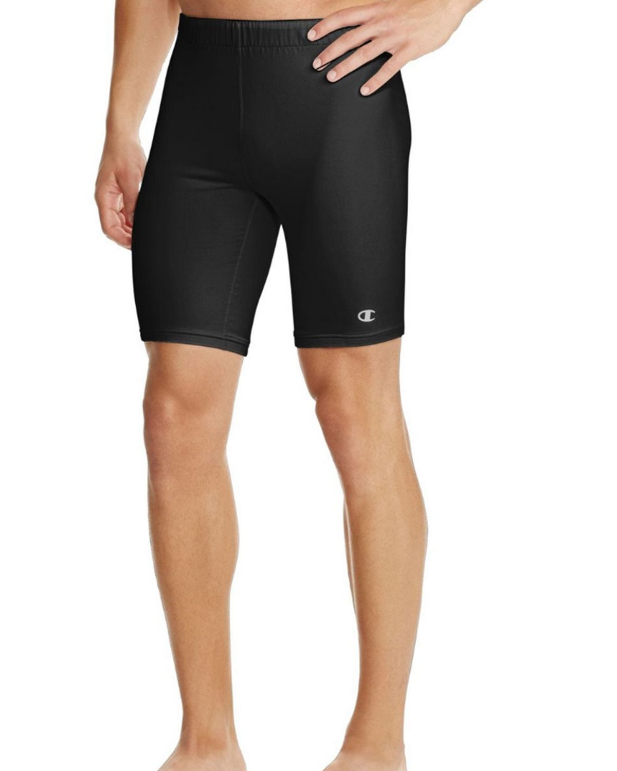 Champion M314 Mens Double Dry Short - Black - XL M314