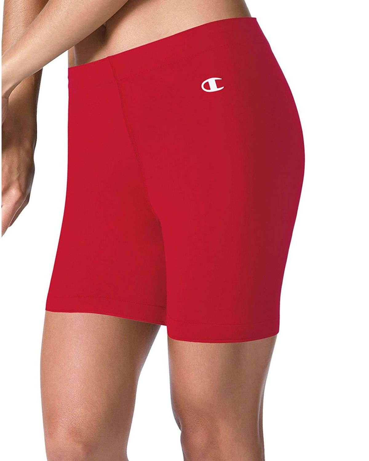Champion M445 Womens Compression Short - Scarlet - XS M445