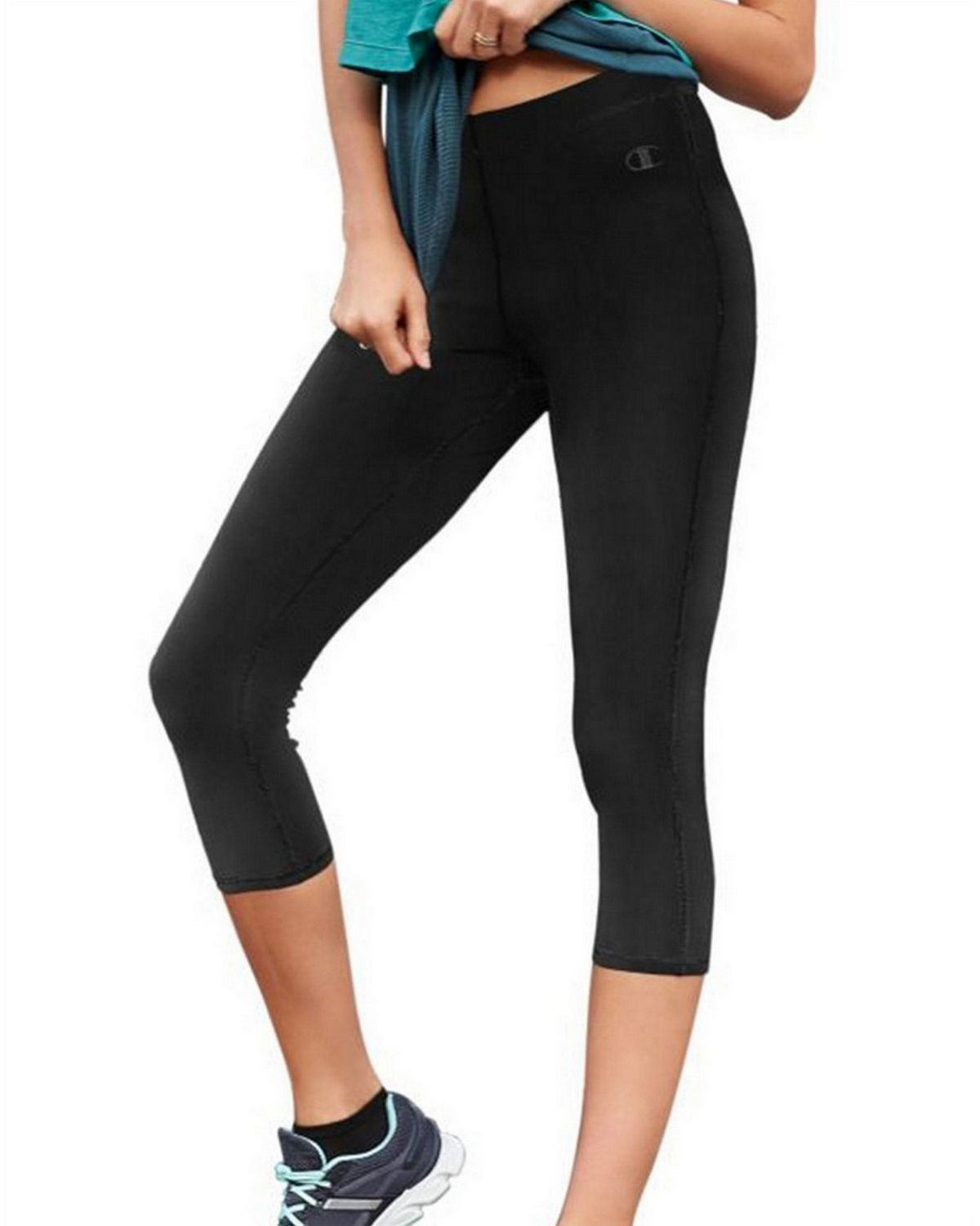 Champion M8878 Go To Womens Knee Tights - Black - M M8878