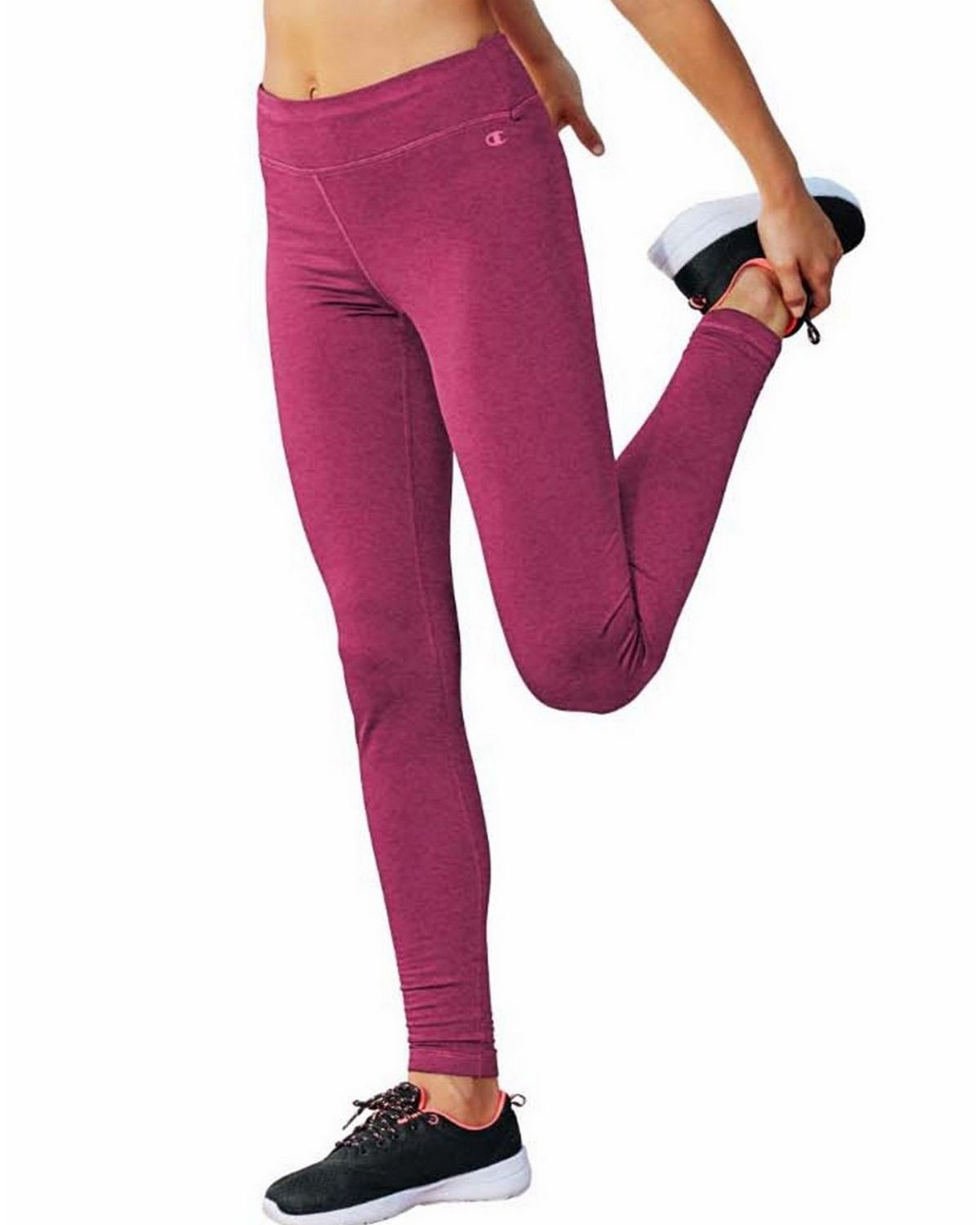 Champion M9518 Tech Fleece Tights - Berry Delight Heather - L M9518