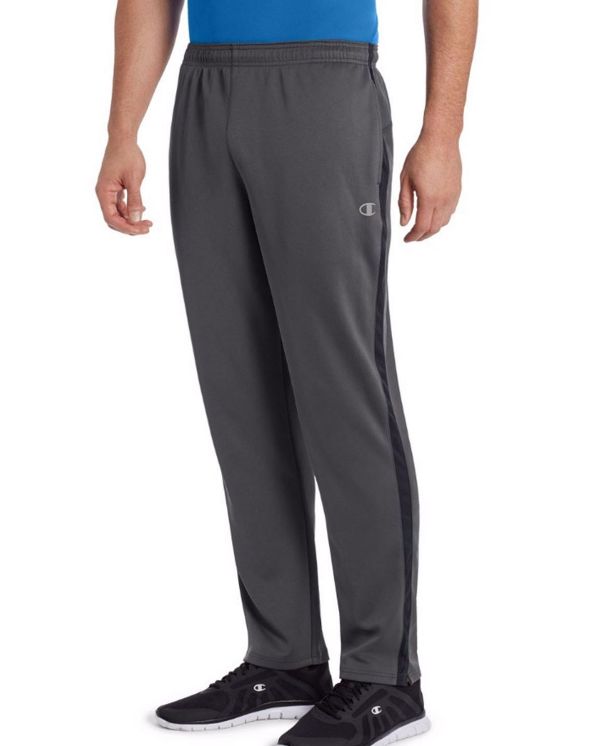 Champion P0551 Men's Vapor Select Training Pants - Shadow Grey/Black - S #vapor