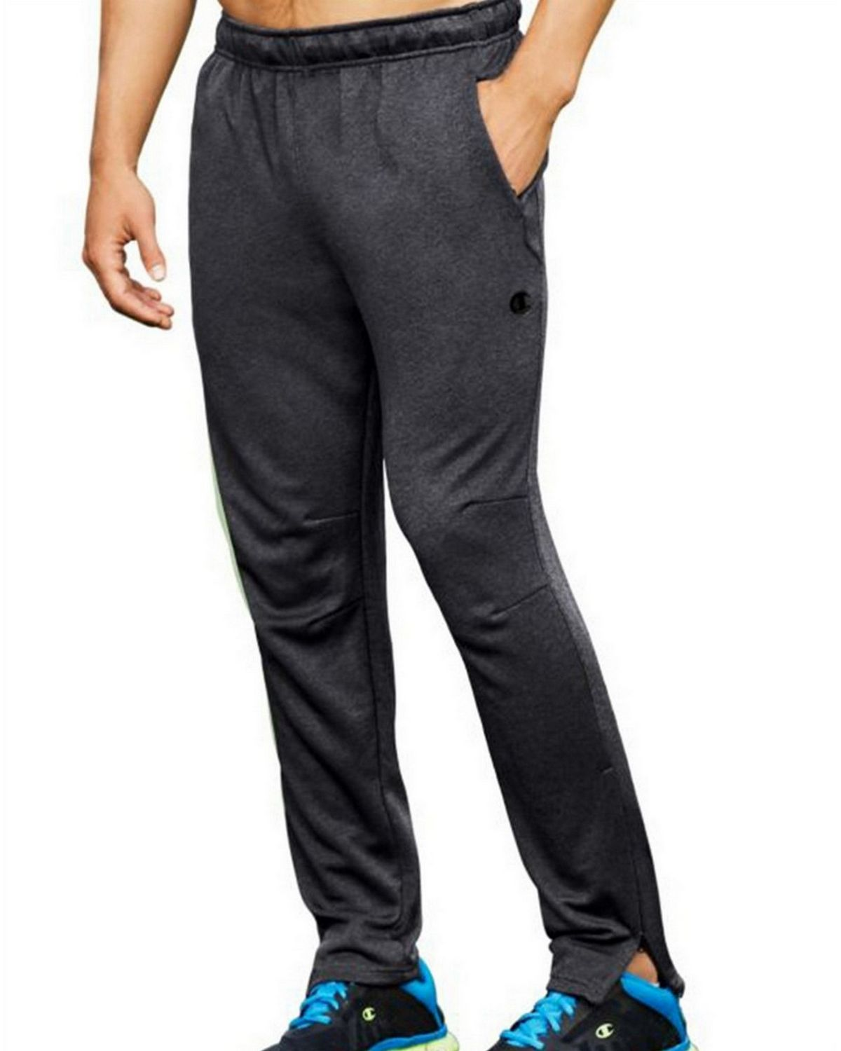 Champion P0819 Mens Cross Train Pants - Granite Heather - S P0819