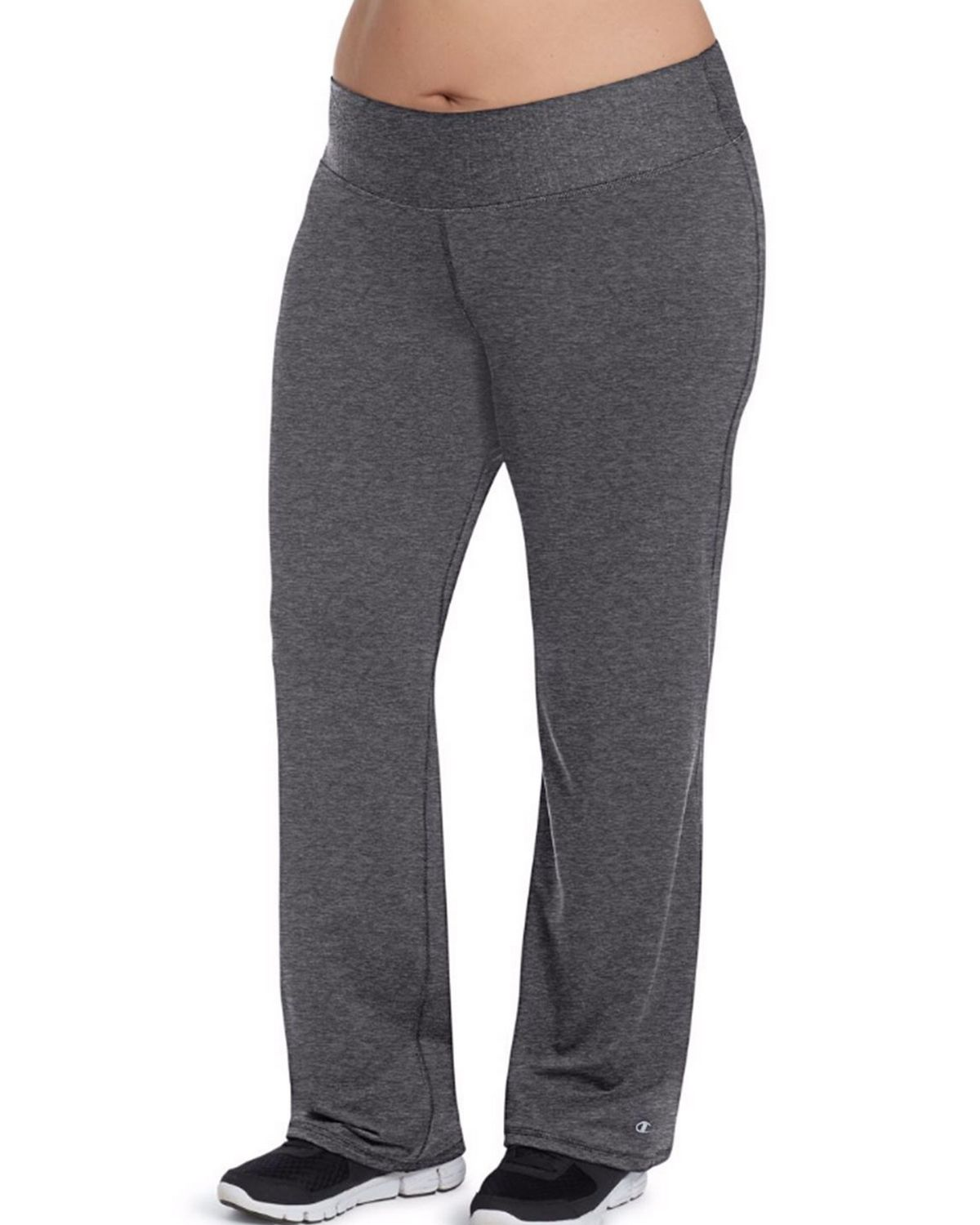 Champion QM0981 Womens Plus Semi-Fit Pants - Granite Heather - XL QM0981