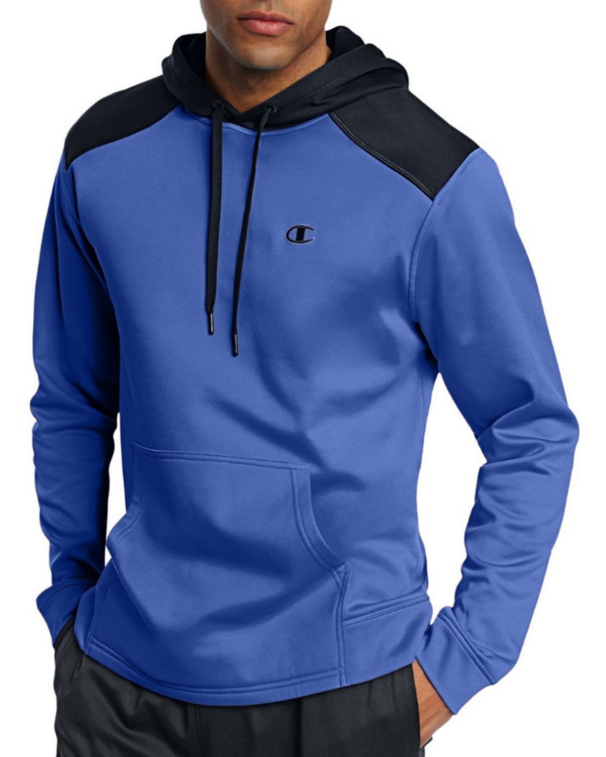 Champion S0875 Tech Fleece Pullover Hoodie - Surf The Web/Navy - XL S0875