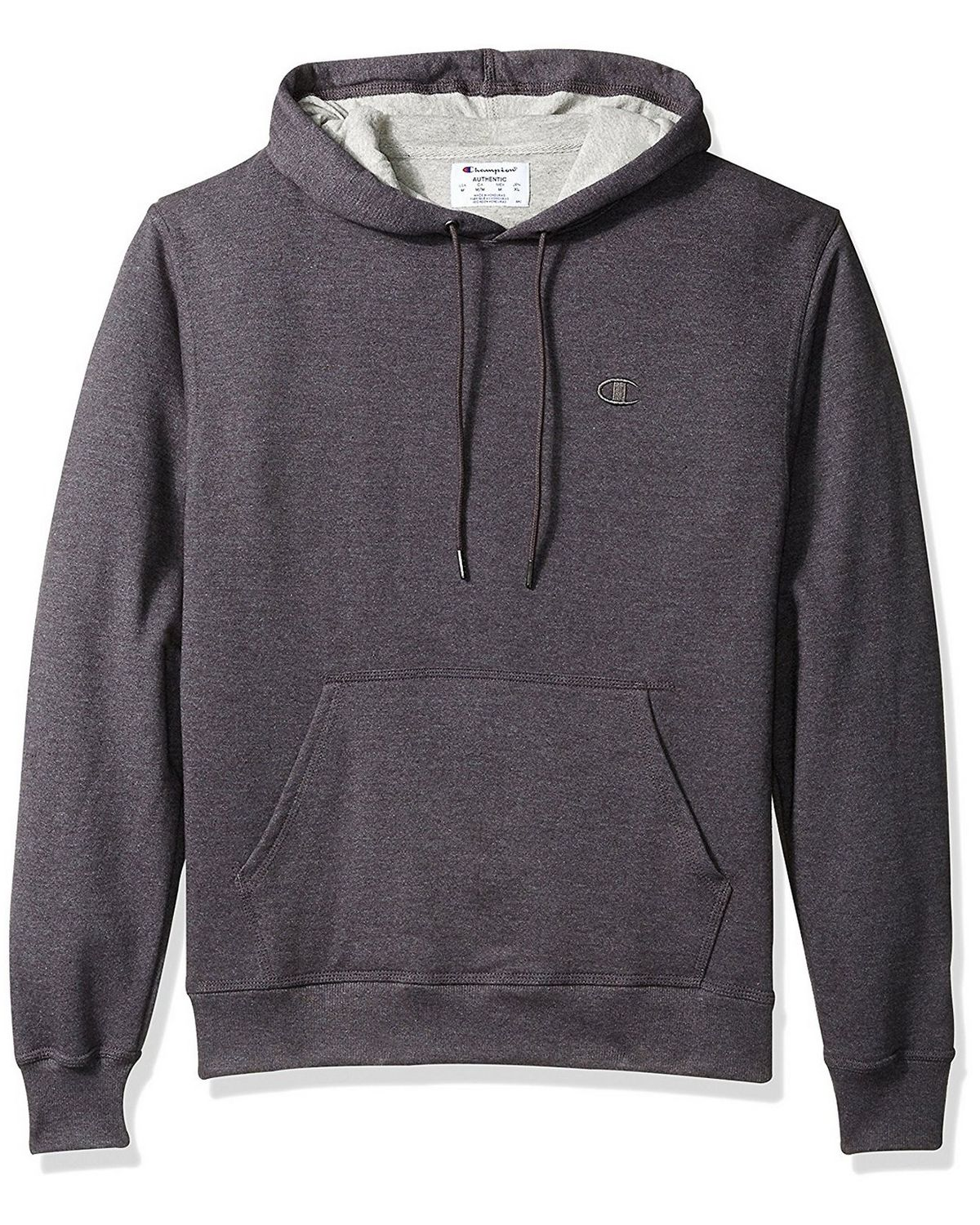 Champion S0889 Mens Fleece Pullover Hoodie - Granite Heather - XL S0889