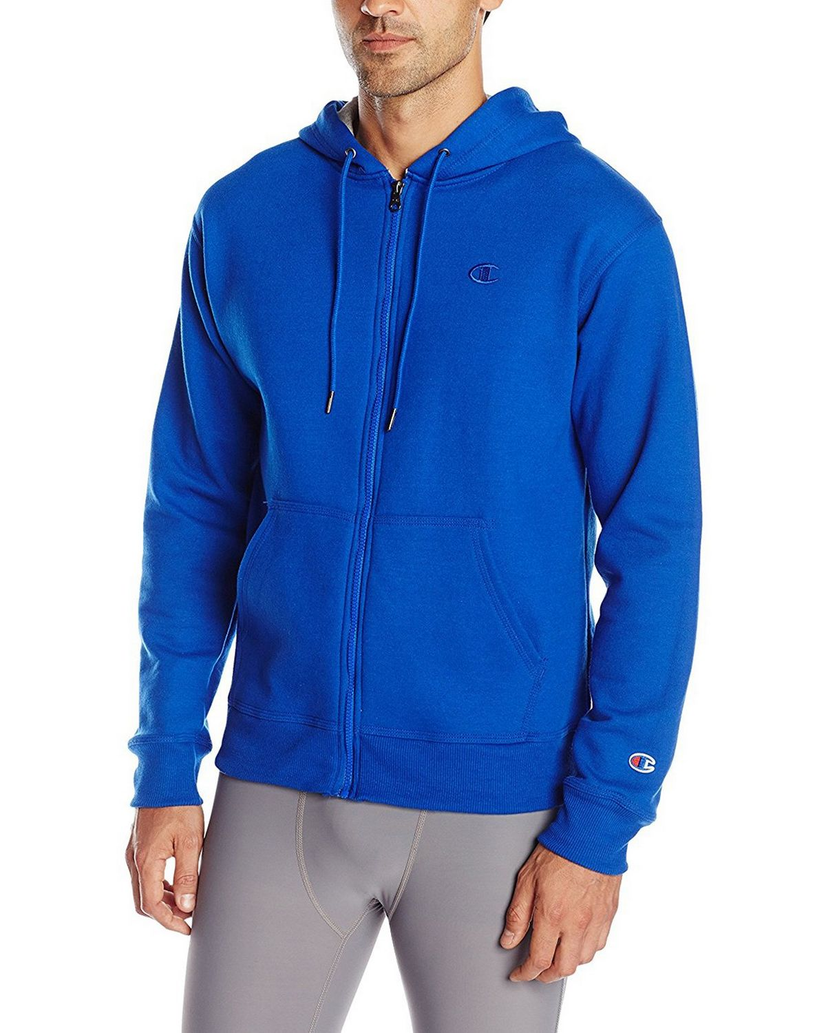 Champion S0891 Mens Fleece Full Zip Jacket - Surf The Web - XL S0891