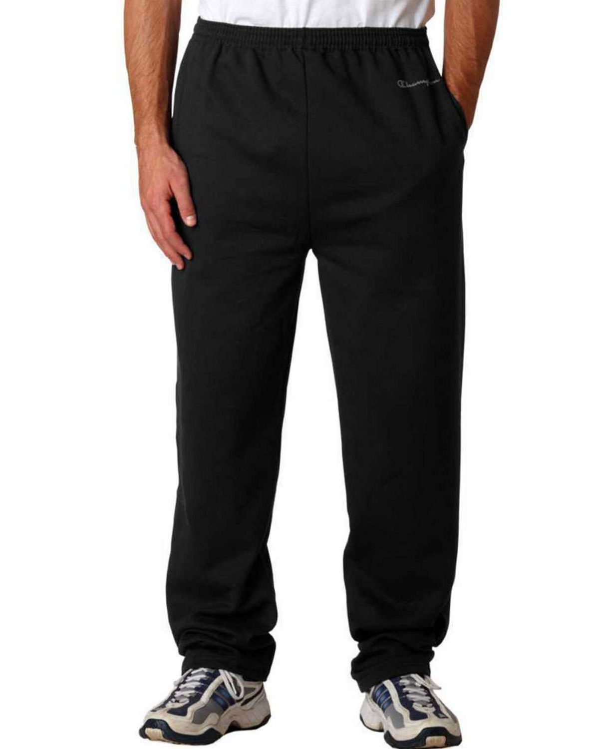 Champion S245 CH Open Bottom Pant - Black - S S245