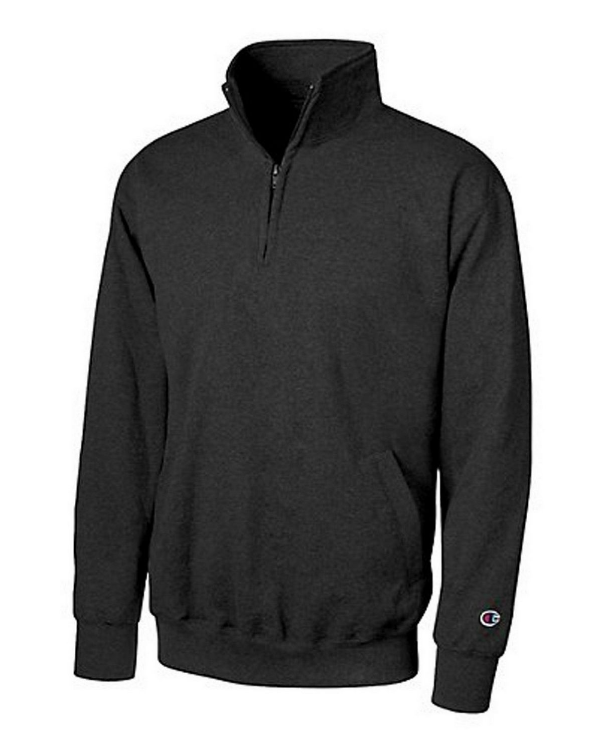 Champion S400 Eco Fleece 1/4 Zip - Black - S S400