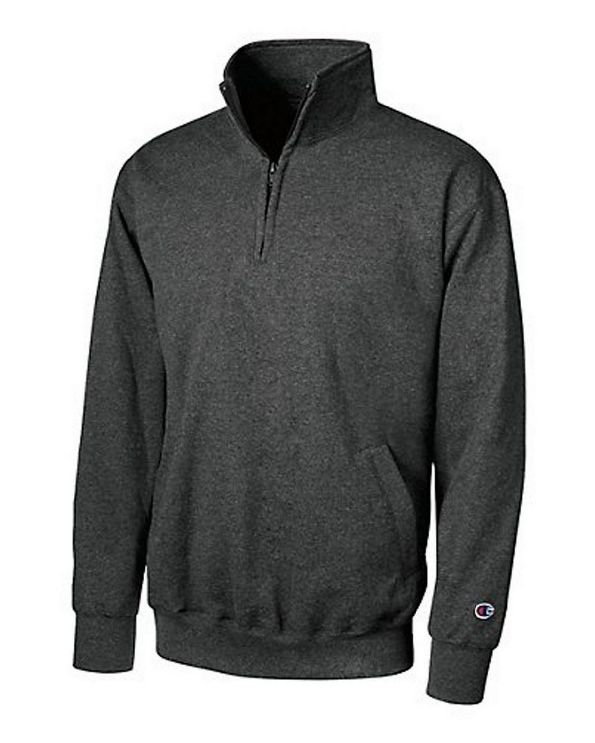 Champion S400 Eco Fleece 1/4 Zip - Black - XL S400