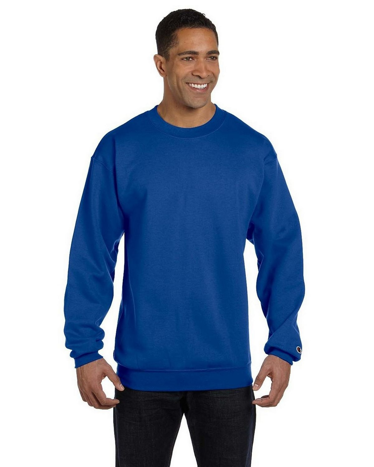 Champion S600 EcoSmart Crew Sweatshirt - Royal Blue - XL S600