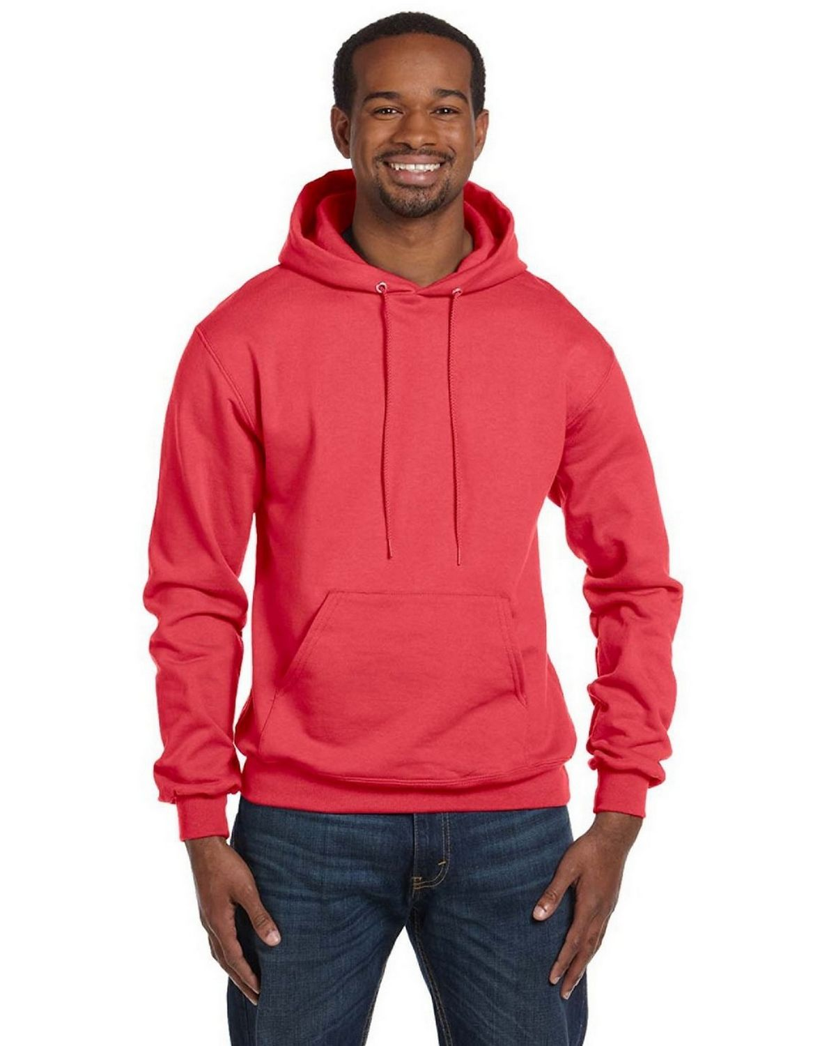 Champion S700 EcoSmart Pullover Hood - Scarlet - L S700