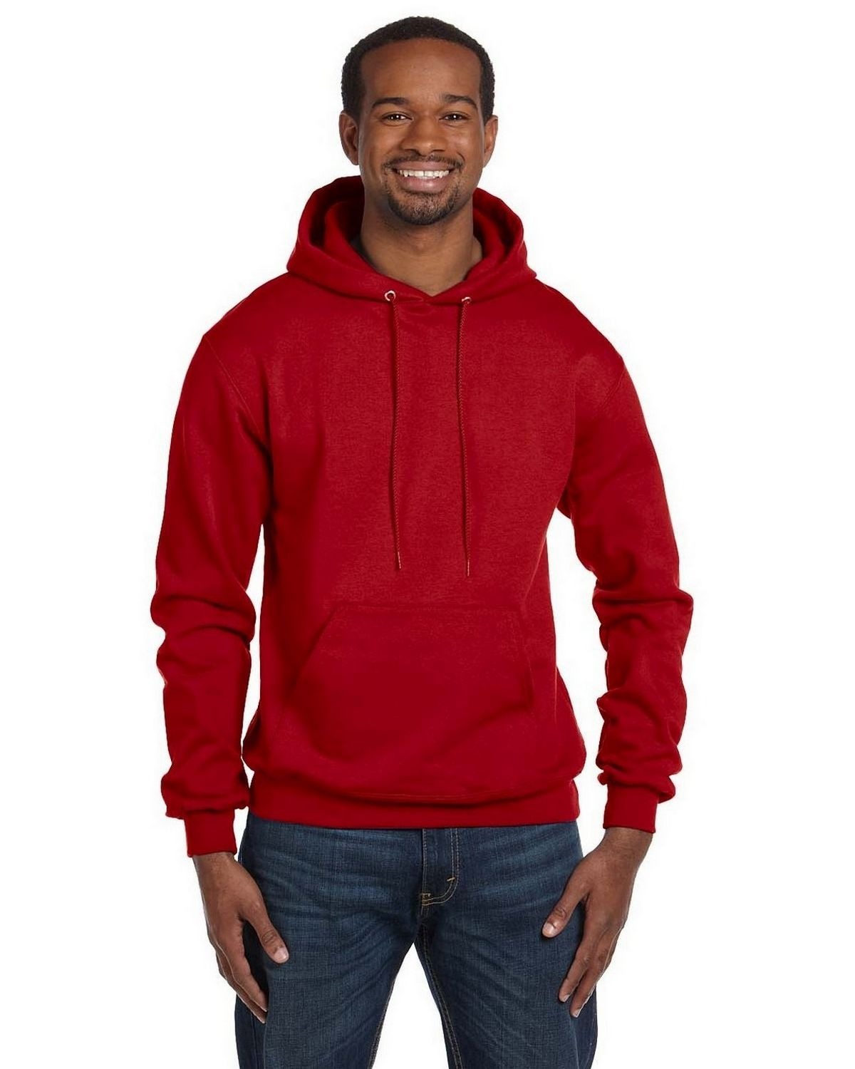 Champion S700 EcoSmart Pullover Hood - Scarlet - S S700