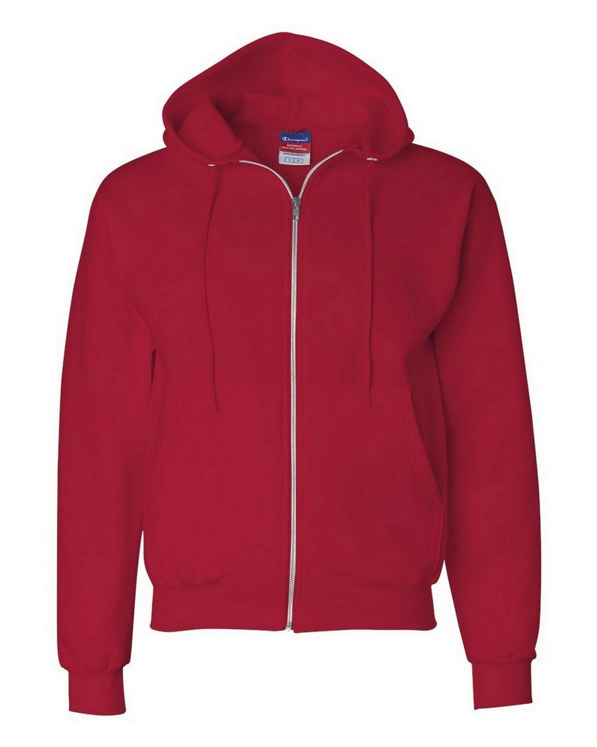 Champion S800 EcoSmart Full Zip Hood - Scarlet - XL S800