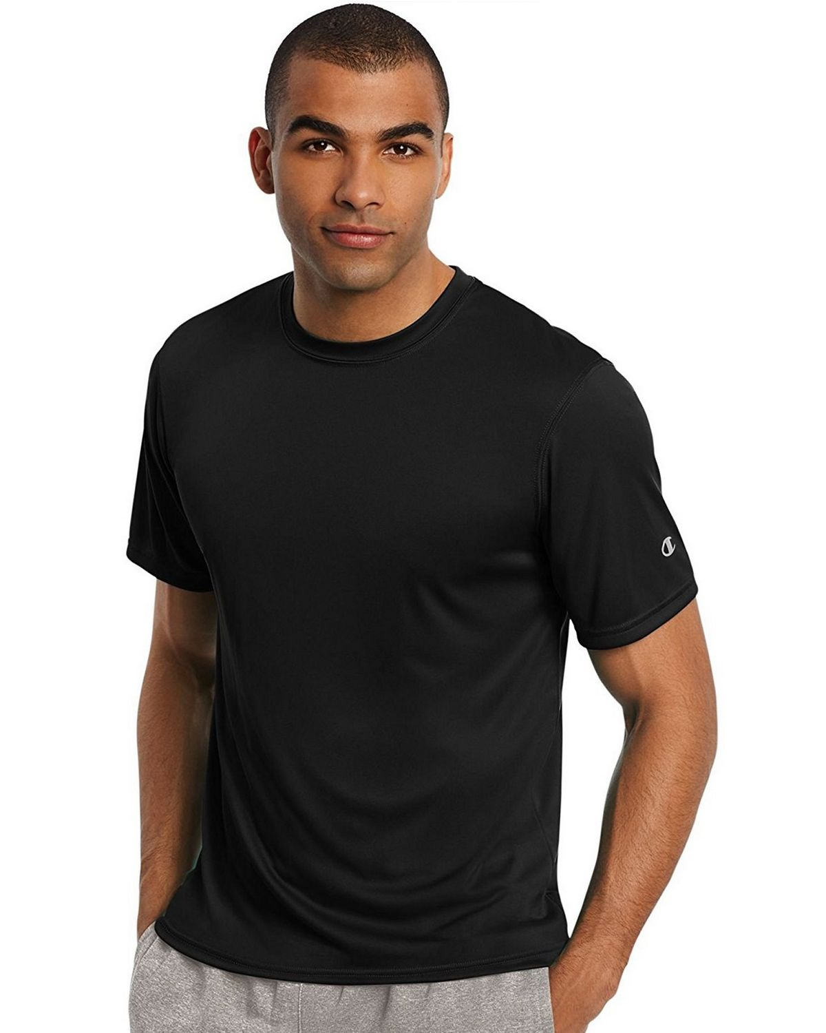 Champion T0022 Core Training Tee - Black - XL T0022