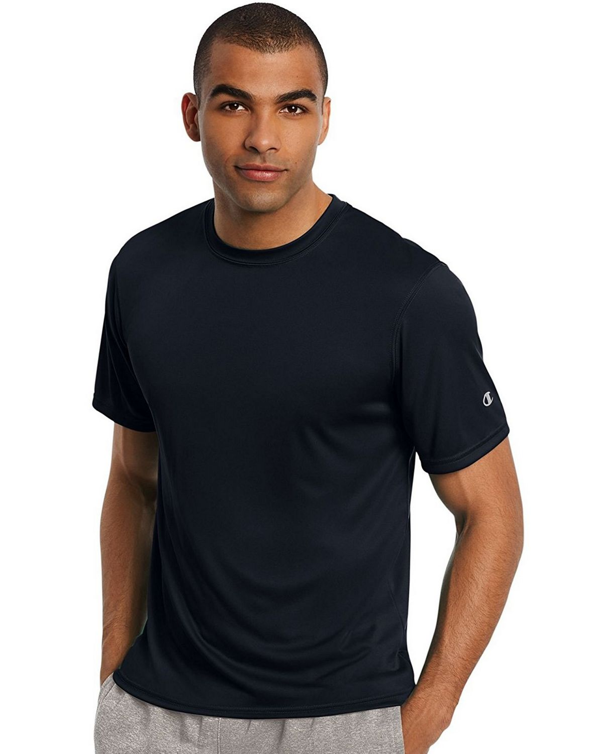 Champion T0022 Core Training Tee - Navy - L T0022