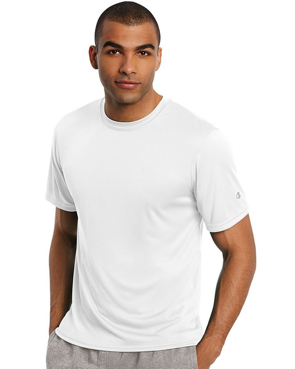 Champion T0022 Core Training Tee - White - L T0022