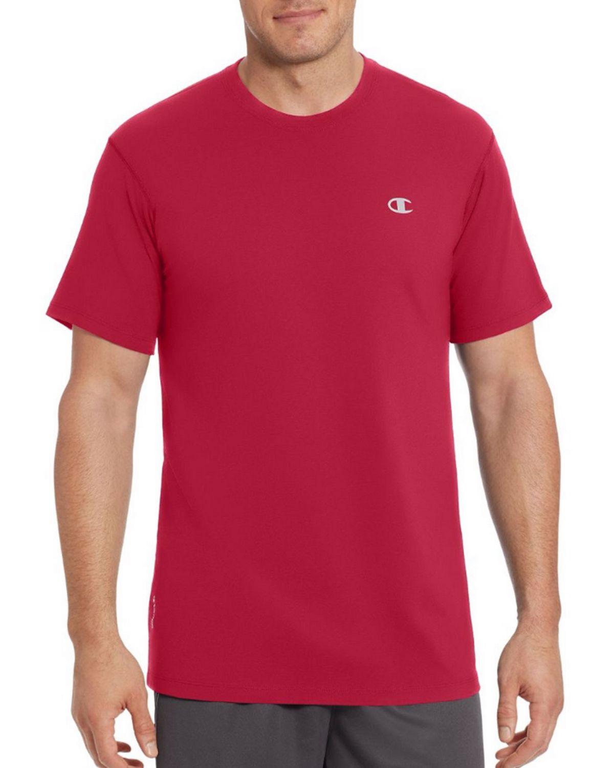 Champion T0351 Vapor Mens Cotton Tee - Scarlet - XL T0351