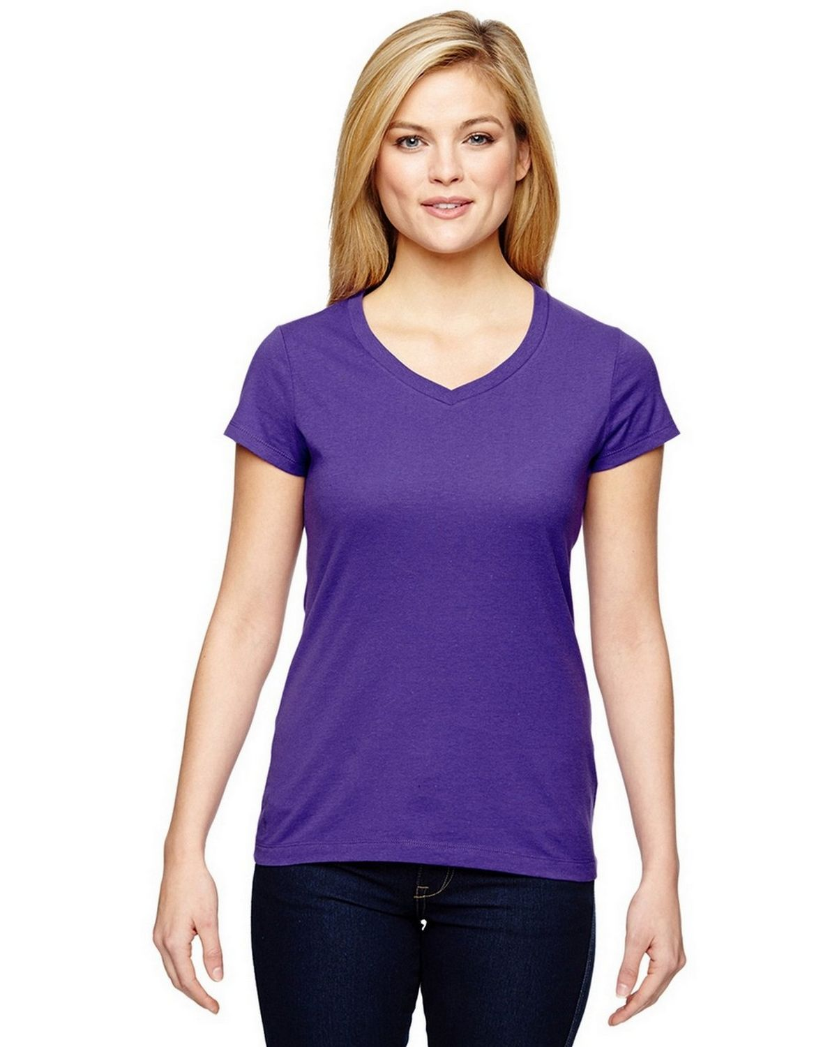 Champion T050 Vapor Ladies T-Shirt - Sport Purple - XL T050
