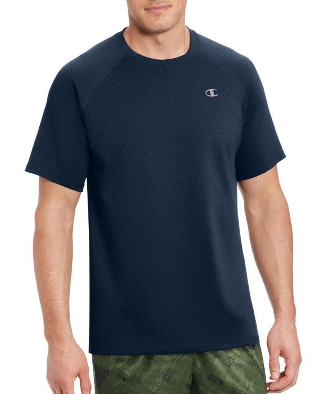Champion T0881 Vapor Mens Tee - Navy - XL T0881