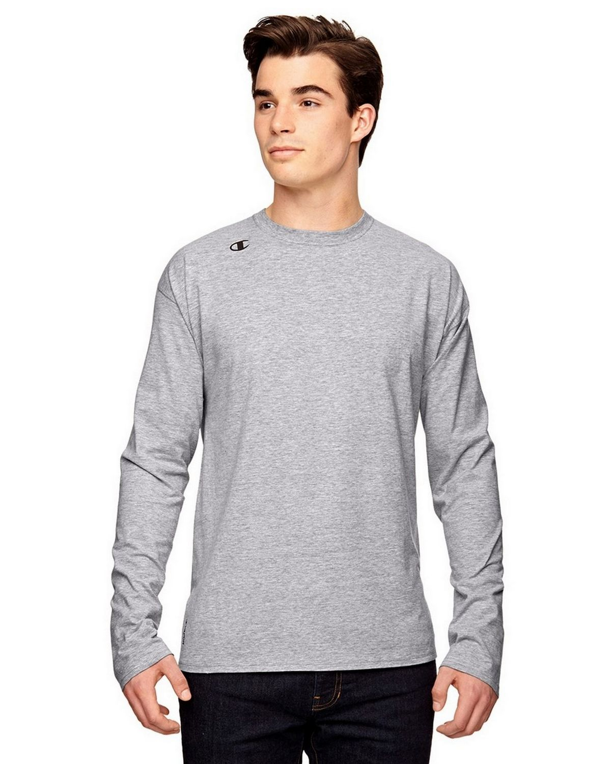 Champion T390 Vapor T-Shirt - Athletic Heather - M T390