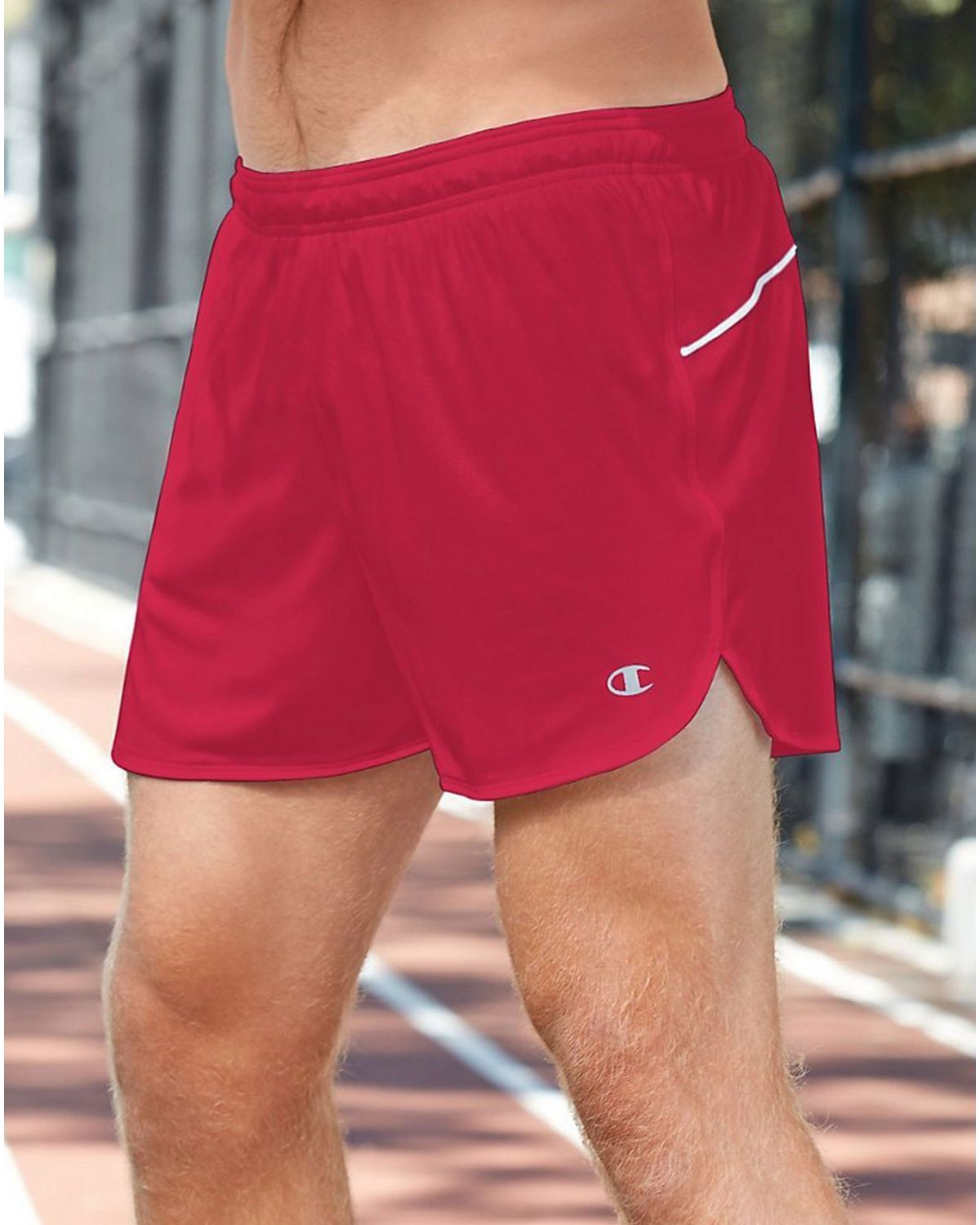 Champion T709 Mens Raceday Short - Scarlet/White - XL T709