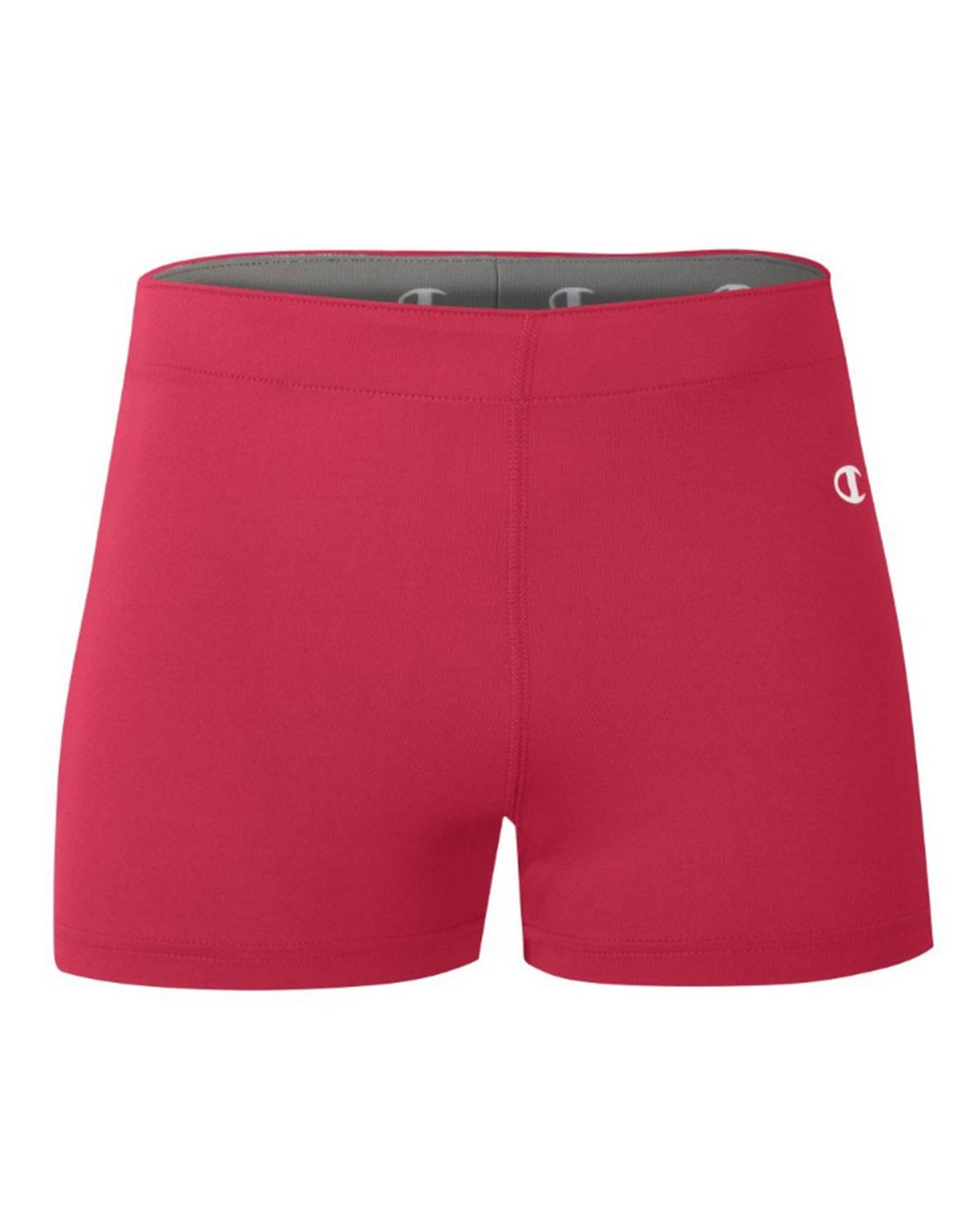 Champion T761 Womens Compression Short - Scarlet - XS T761