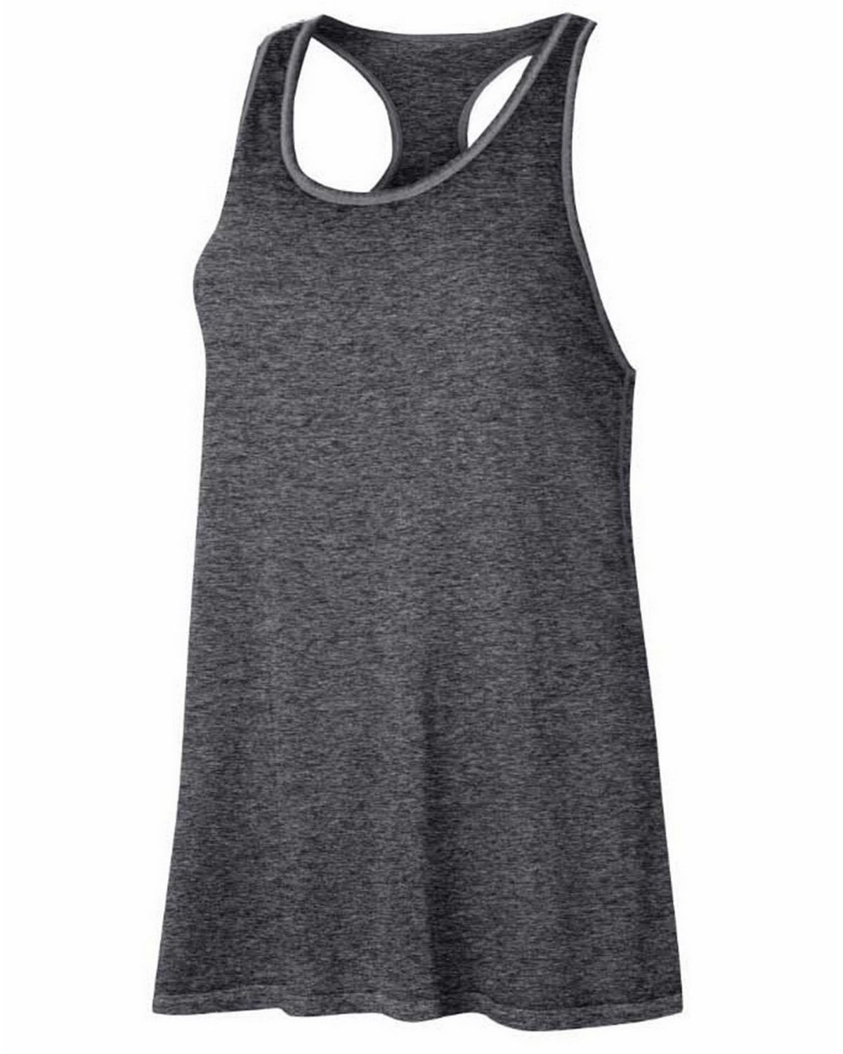 Champion W1044T Gear Womens Washed Tank - Granite Heather - M W1044T