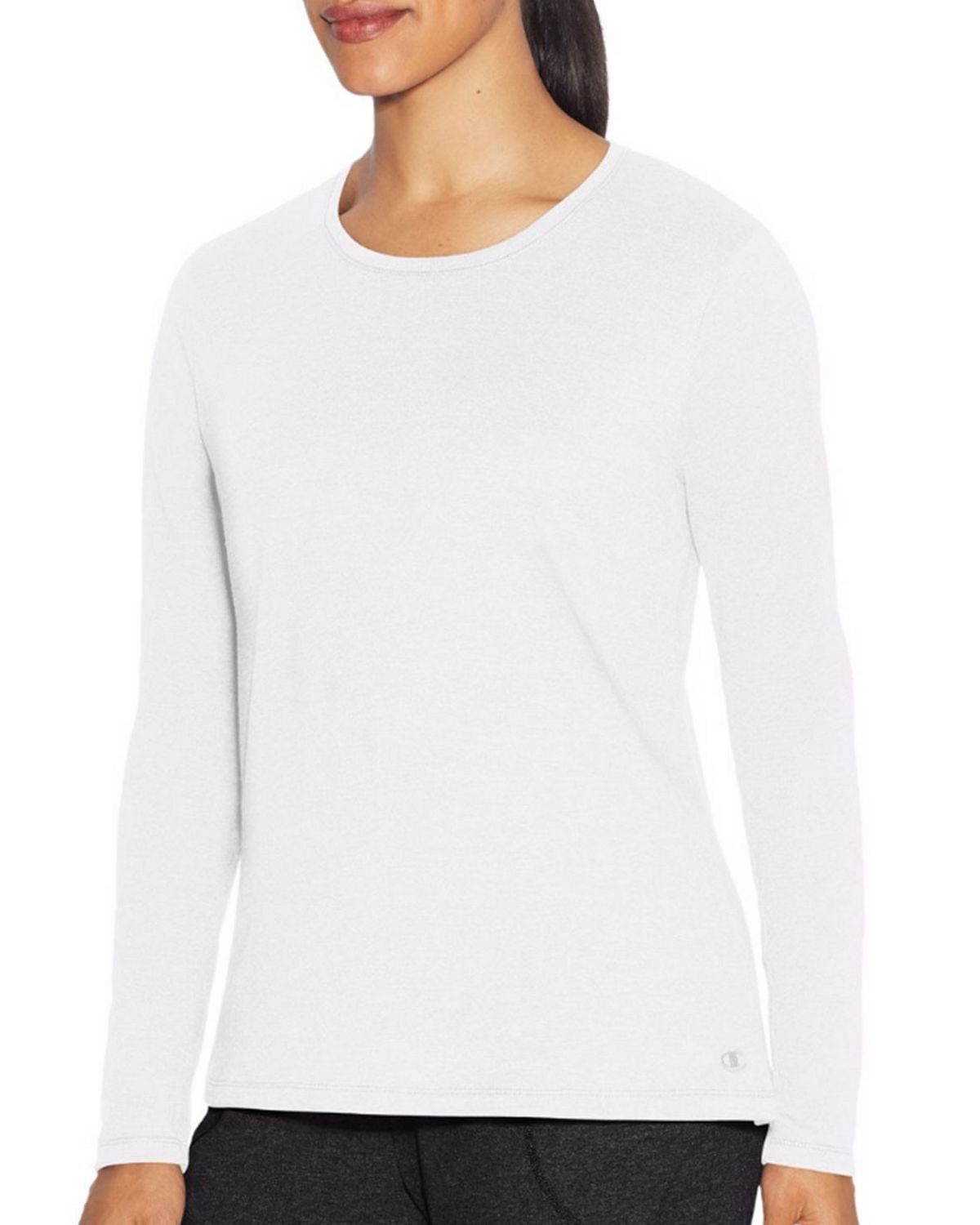 Champion W29563 Womens Vapor Tee - White - XL W29563