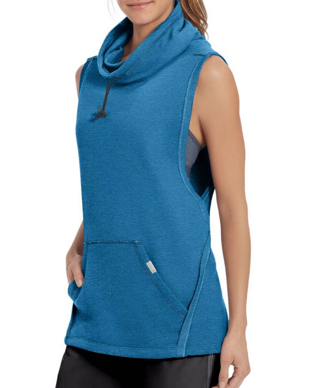 Champion W50067 Womens Sleeveless Pullover - Oxford Grey Heather - M W50067
