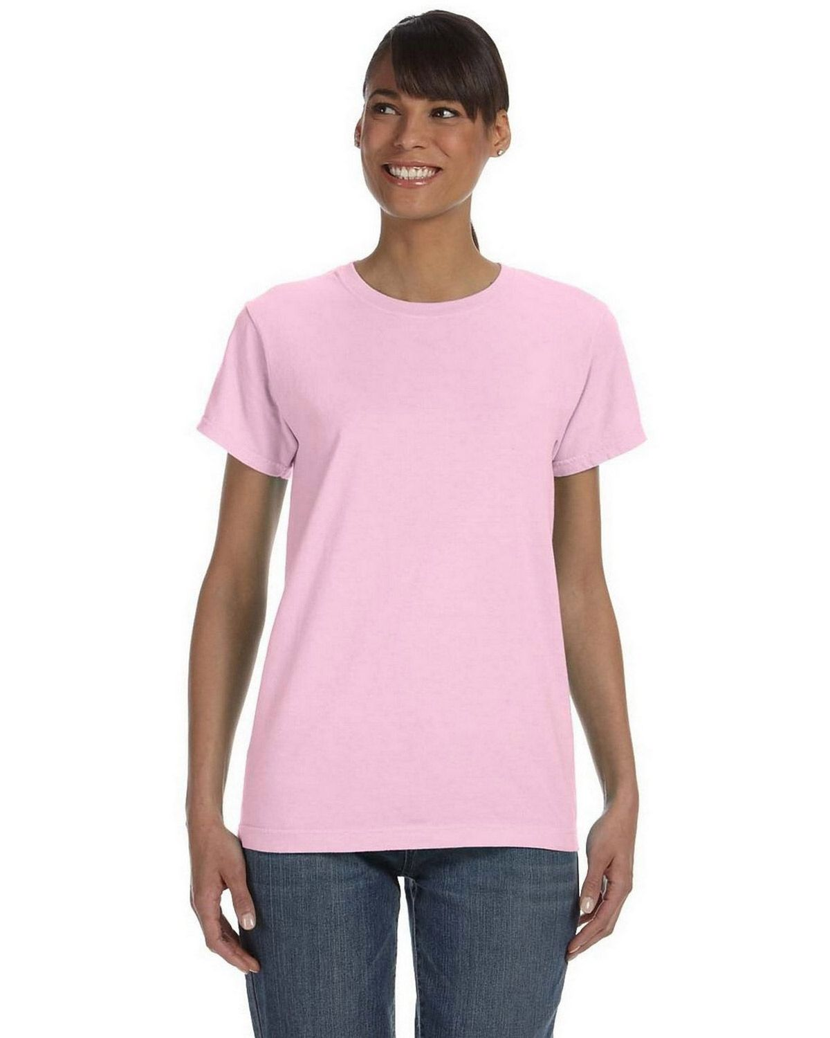 Ringspun T Shirt >> Buy Comfort Colors C3333 Womens Ringspun T Shirt