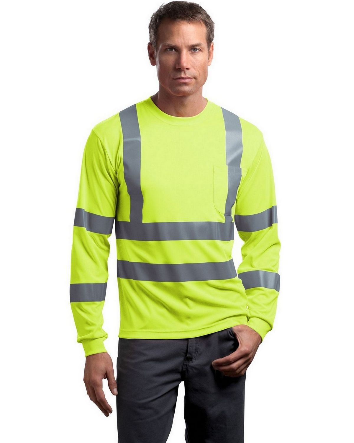 Buy Cornerstone Cs409 Ansi Class 3 Long Sleeve Snag Resistant