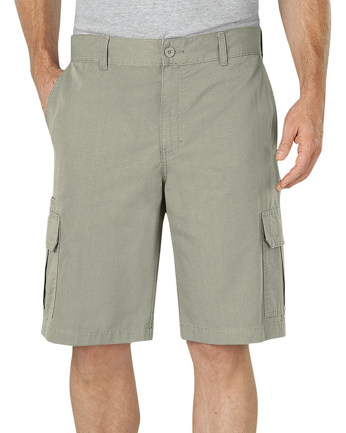 481f2a88ad Dickies WR351 Mens 11 Relaxed Fit Lightweight Ripstop Cargo Short