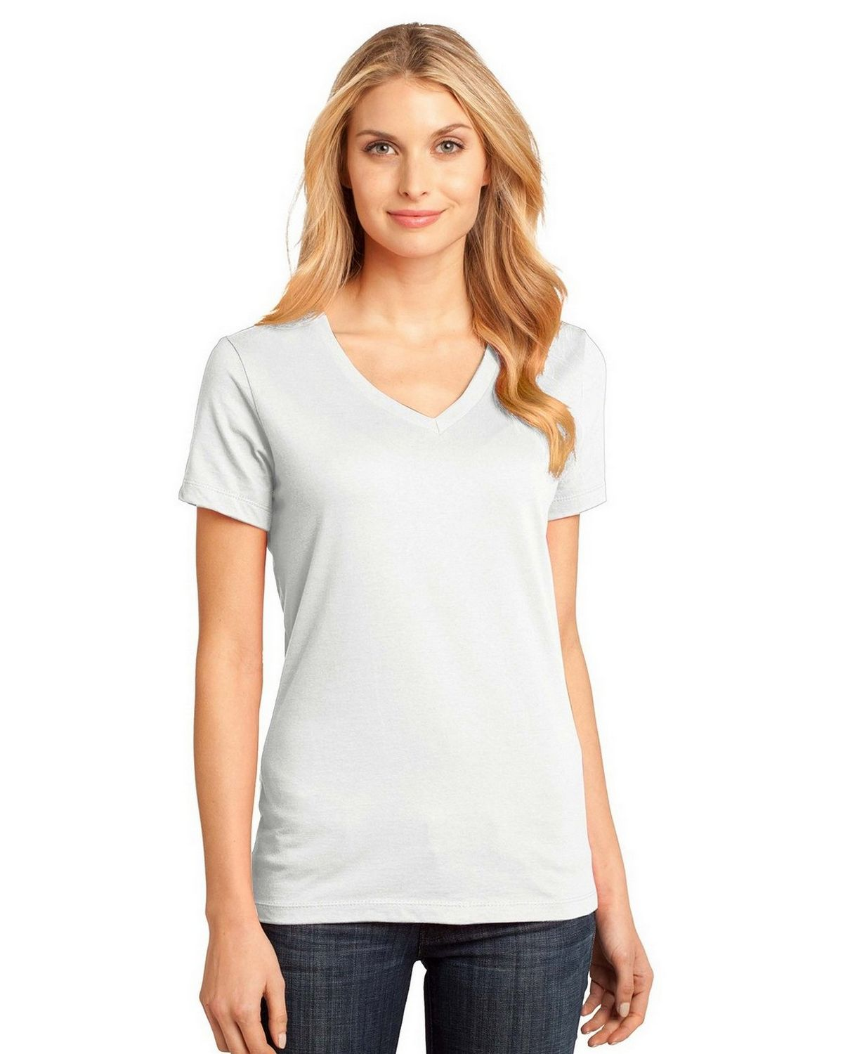 f3688c692 Buy District DM1170L Ladies Perfect V-Neck Tee