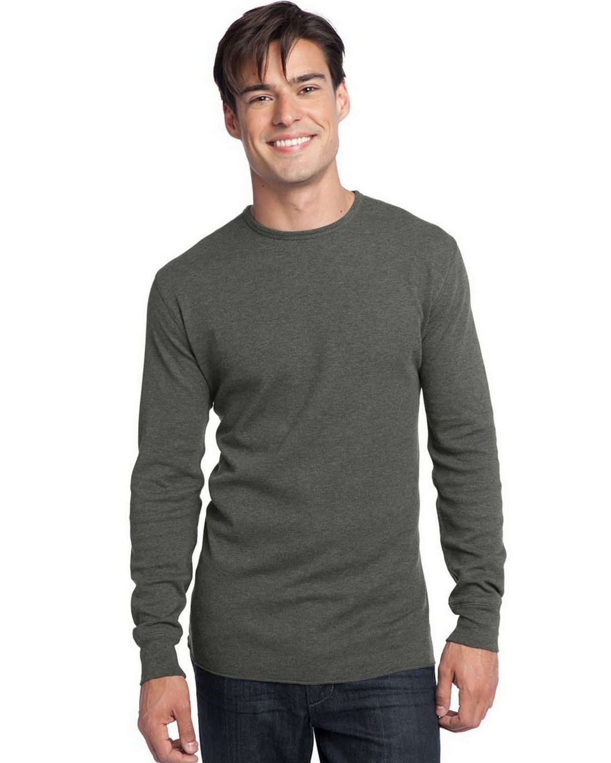 Long Sleeve Thermal Deep Heather Color
