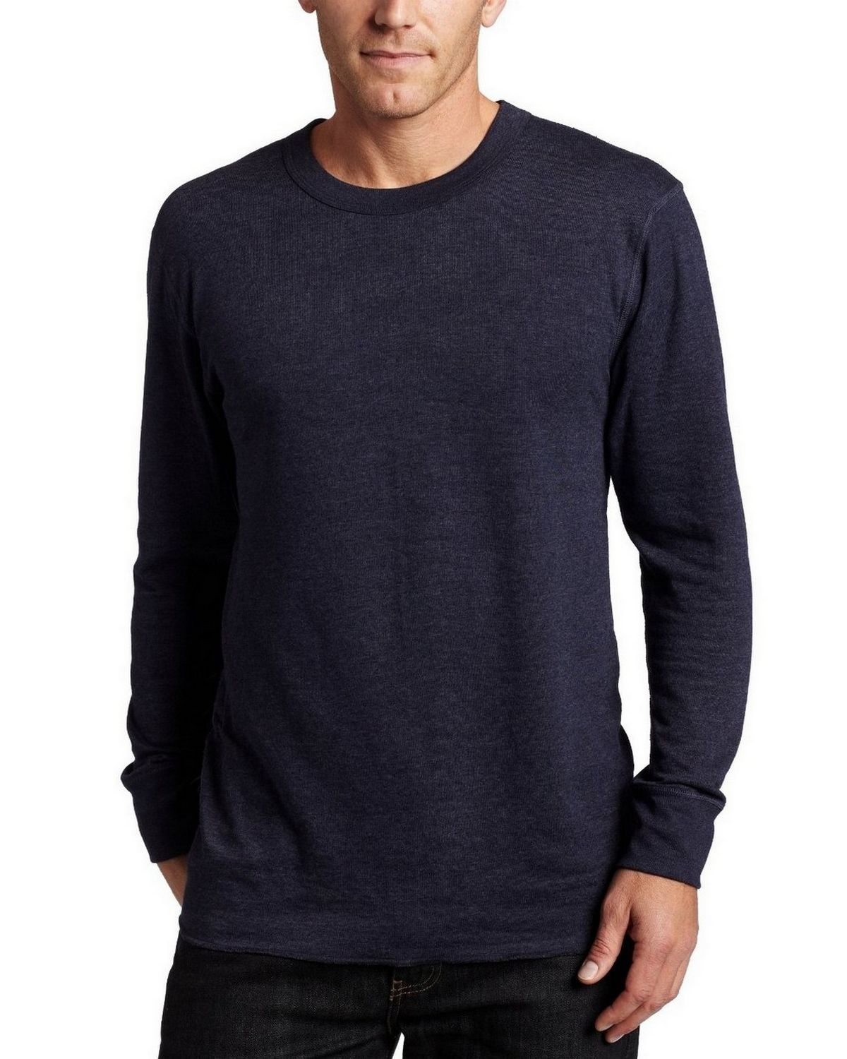 Size Chart for Duofold KMW1 Thermals - Mid-Weight Mens Long Sleeve Crew