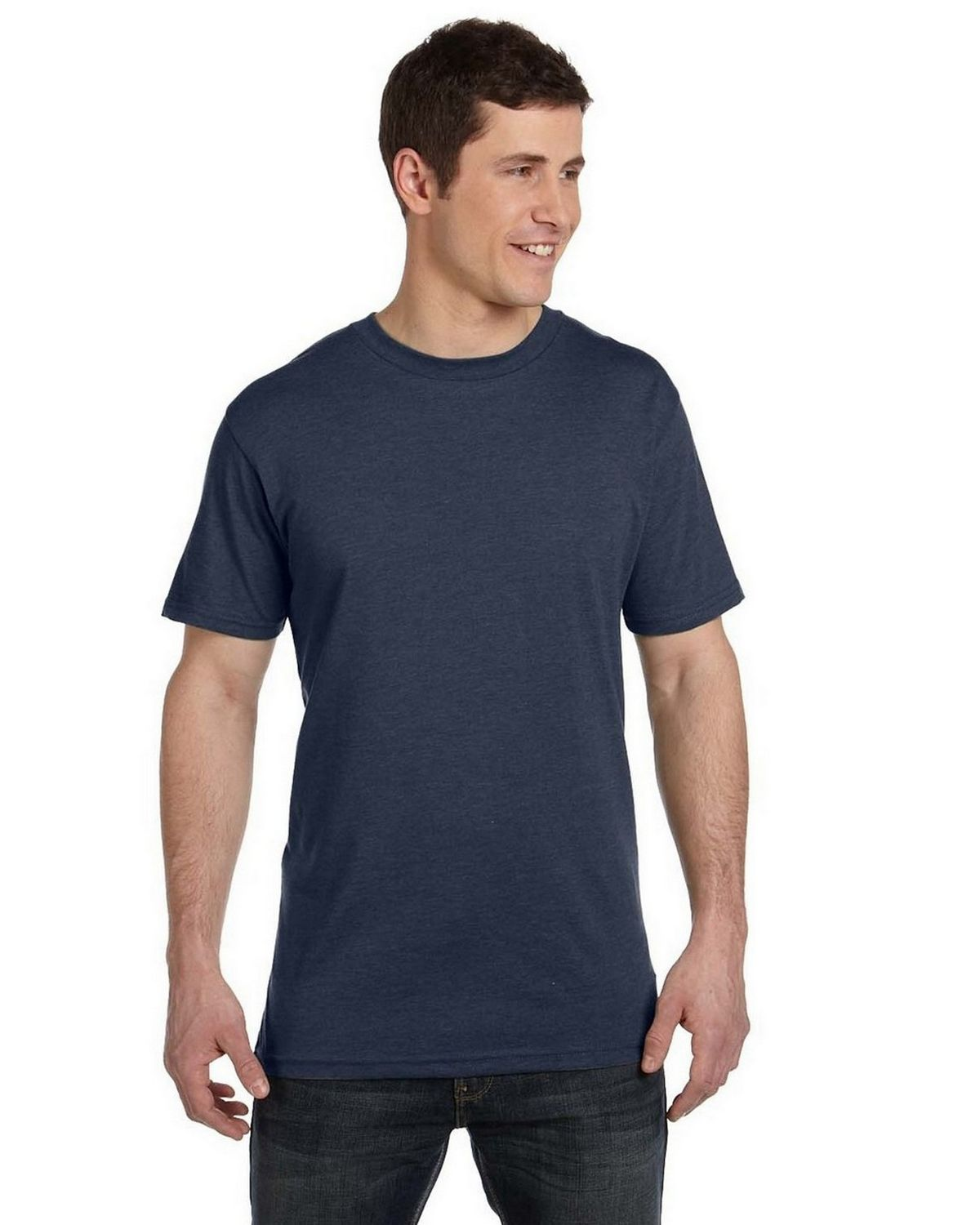 Econscious EC1080 Mens Blended Eco T Shirt - Water - L EC1080
